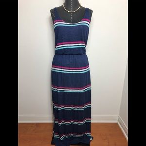 Splendid Summer Side Slip Maxi Dress